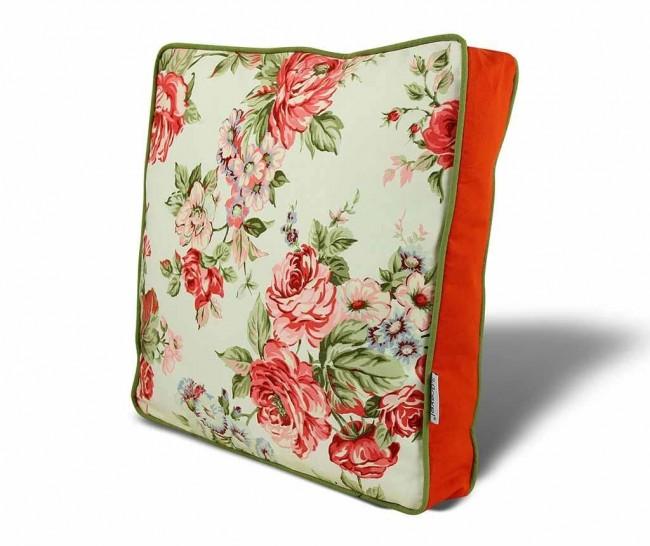 Perne decorative pentru scaun. Cinci idei deosebite cu modele florale - Poza 5