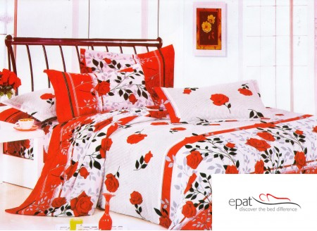 Zece modele superbe de lenjerii de pat din bumbac satinat - Poza 8