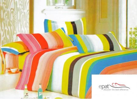 Zece modele superbe de lenjerii de pat din bumbac satinat - Poza 6