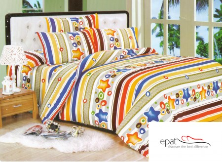 Zece modele superbe de lenjerii de pat din bumbac satinat - Poza 5