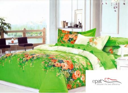 Zece modele superbe de lenjerii de pat din bumbac satinat - Poza 4