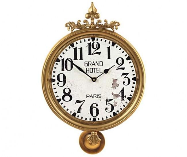 Accesorii utile pentru un spatiu cat mai chic: ceasurile de perete vintage - Poza 5