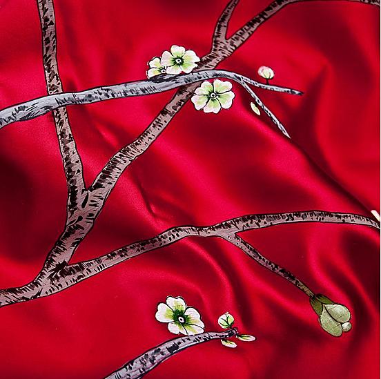 Creeaza un colt de poveste si natura in casa ta cu draperiile florale handmade pictate manual - Poza 1