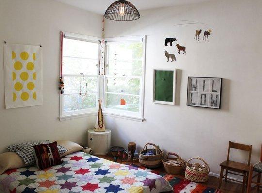 11 modele de paturi pentru copii la nivelul podelei - Poza 10