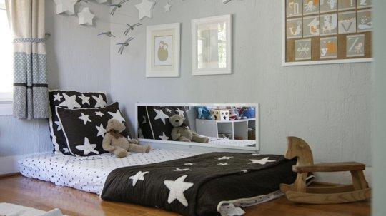 11 modele de paturi pentru copii la nivelul podelei - Poza 7