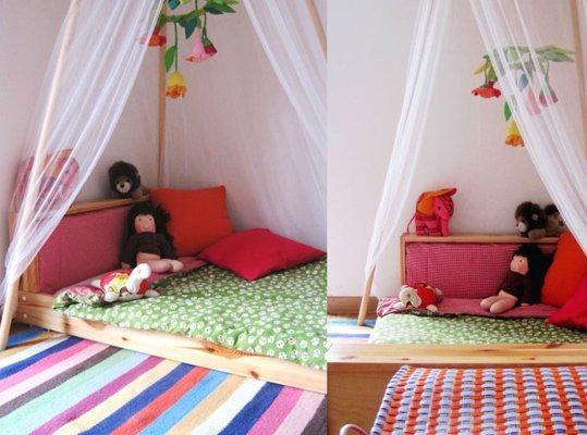 11 modele de paturi pentru copii la nivelul podelei - Poza 6