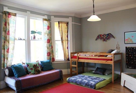11 modele de paturi pentru copii la nivelul podelei - Poza 5