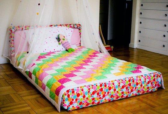 11 modele de paturi pentru copii la nivelul podelei - Poza 3