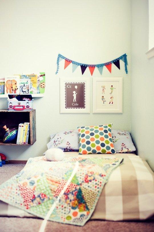 11 modele de paturi pentru copii la nivelul podelei - Poza 2