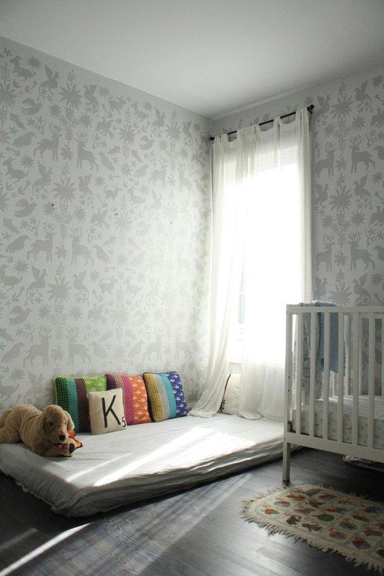11 modele de paturi pentru copii la nivelul podelei - Poza 11
