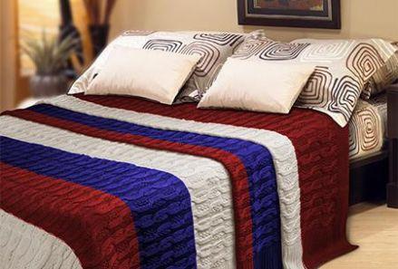 Paturi tricotate pentru o iarna calduroasa - Poza 1