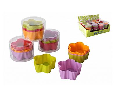 Forme multicolore de copt pentru deserturi delicioase de Craciun - Poza 2