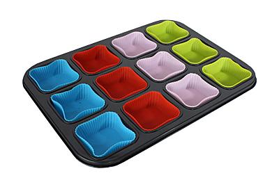Forme multicolore de copt pentru deserturi delicioase de Craciun - Poza 6