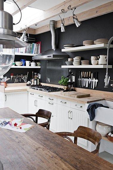 Decopera-ti stilul preferat: 12 interioare de bucatarii superbe in alb-negru - Poza 7