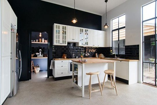 Decopera-ti stilul preferat: 12 interioare de bucatarii superbe in alb-negru - Poza 4