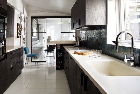 Decopera-ti stilul preferat: 12 interioare de bucatarii superbe in alb-negru - Poza 12