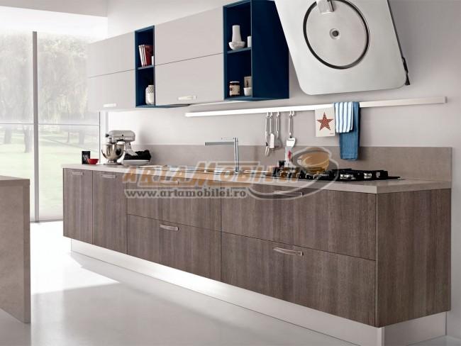 Mobila de bucatarie moderna intr-un design personalizat - Poza 2