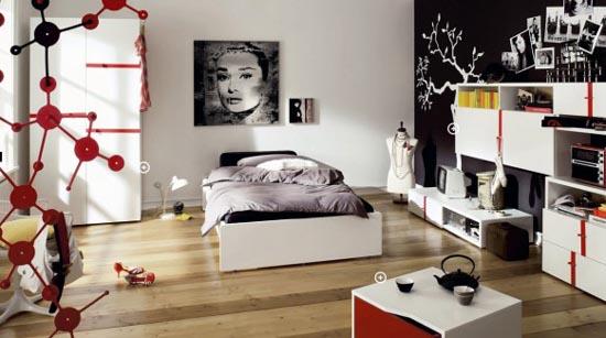 Sapte idei de design interior pentru camera unei adolescente - Poza 6
