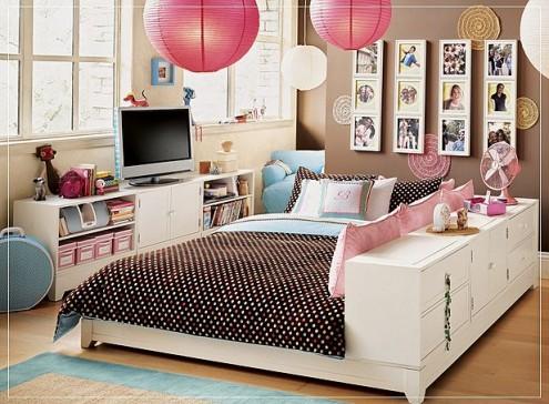 Sapte idei de design interior pentru camera unei adolescente - Poza 7