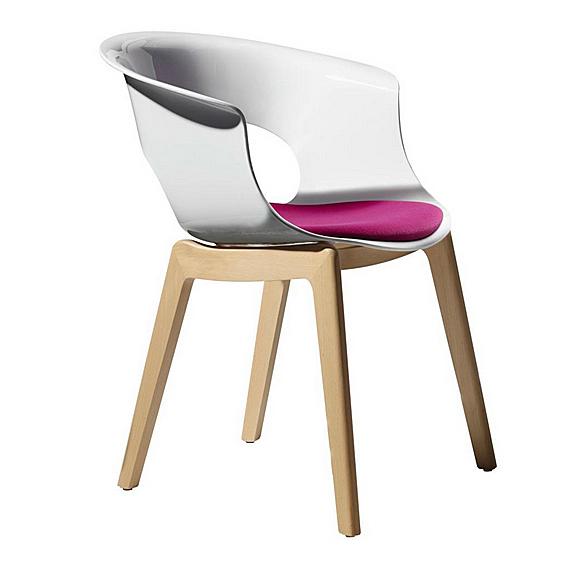 Scaune cu un design inedit in culori puternice si linii moderne la 4interior.ro - Poza 1