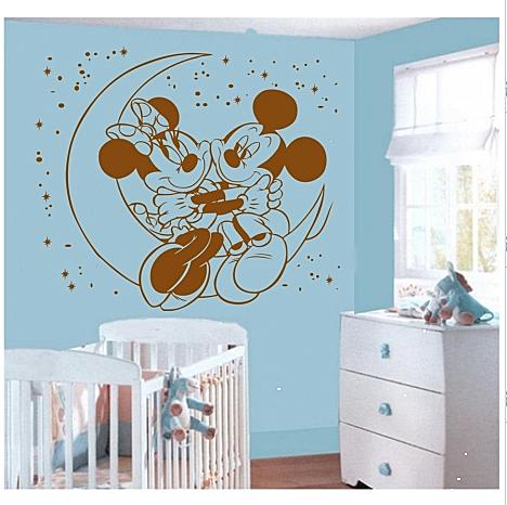 Inveseleste camera copiilor cu stickere decorative ale celor mai iubite personaje Disney - Poza 2