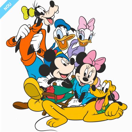Inveseleste camera copiilor cu stickere decorative ale celor mai iubite personaje Disney - Poza 6