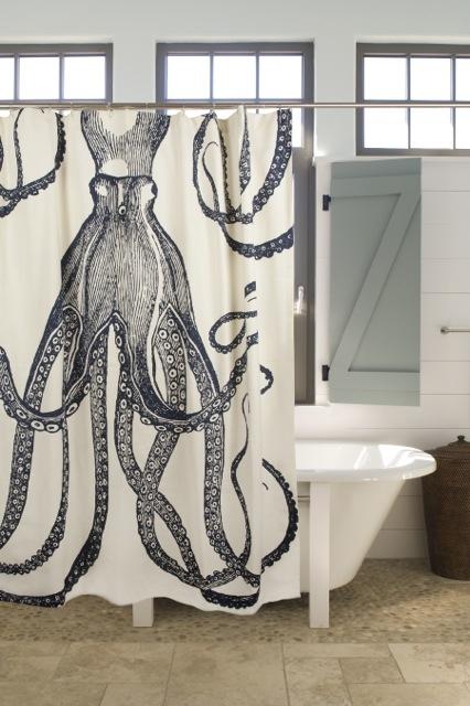 15 idei de perdele de dus pentru o baie cu personalitate - Poza 14