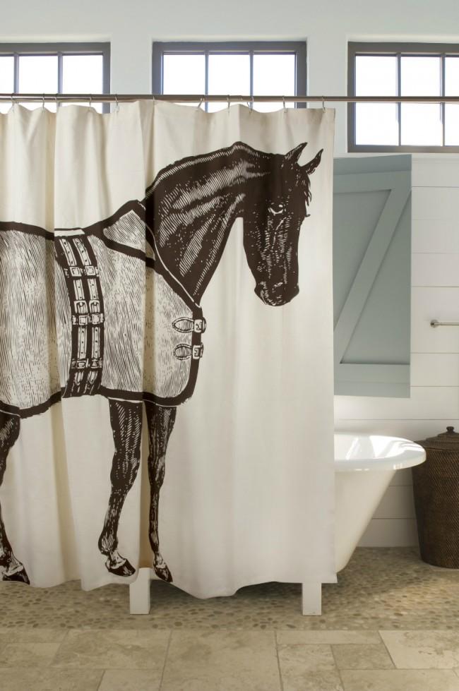 15 idei de perdele de dus pentru o baie cu personalitate - Poza 8