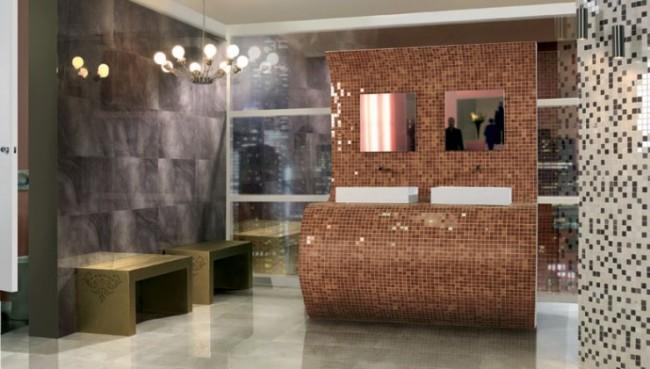 Farmecul designului din mozaic in 10 modele de bai - Poza 6