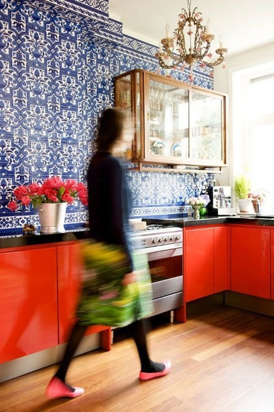 10 idei de design interior pentru bucataria ta intr-un contrast surprinzator - Poza 1