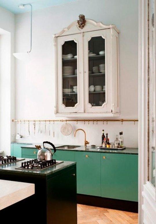 10 idei de design interior pentru bucataria ta intr-un contrast surprinzator - Poza 6