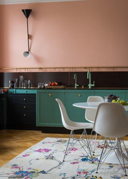 10 idei de design interior pentru bucataria ta intr-un contrast surprinzator - Poza 10