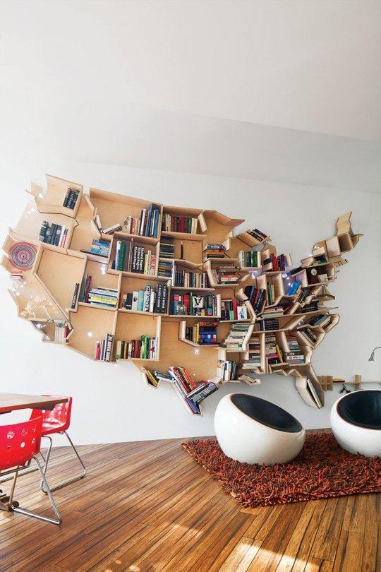 10 rafturi de biblioteca ce va vor surprinde prin unicitatea si creativitatea designului - Poza 1
