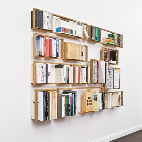 10 rafturi de biblioteca ce va vor surprinde prin unicitatea si creativitatea designului - Poza 7