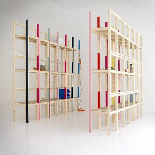 10 rafturi de biblioteca ce va vor surprinde prin unicitatea si creativitatea designului - Poza 5