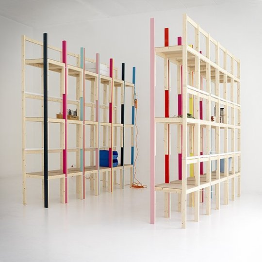 10 rafturi de biblioteca ce va vor surprinde prin unicitatea si creativitatea designului - Poza 4