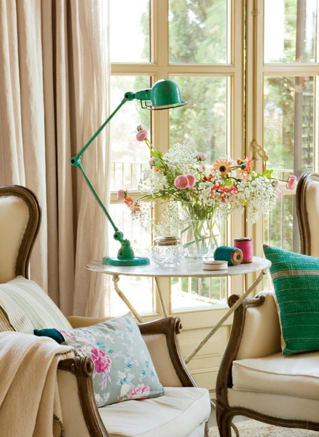 Eleganta unui dormitor in fermecatorul stil vintage - Poza 2