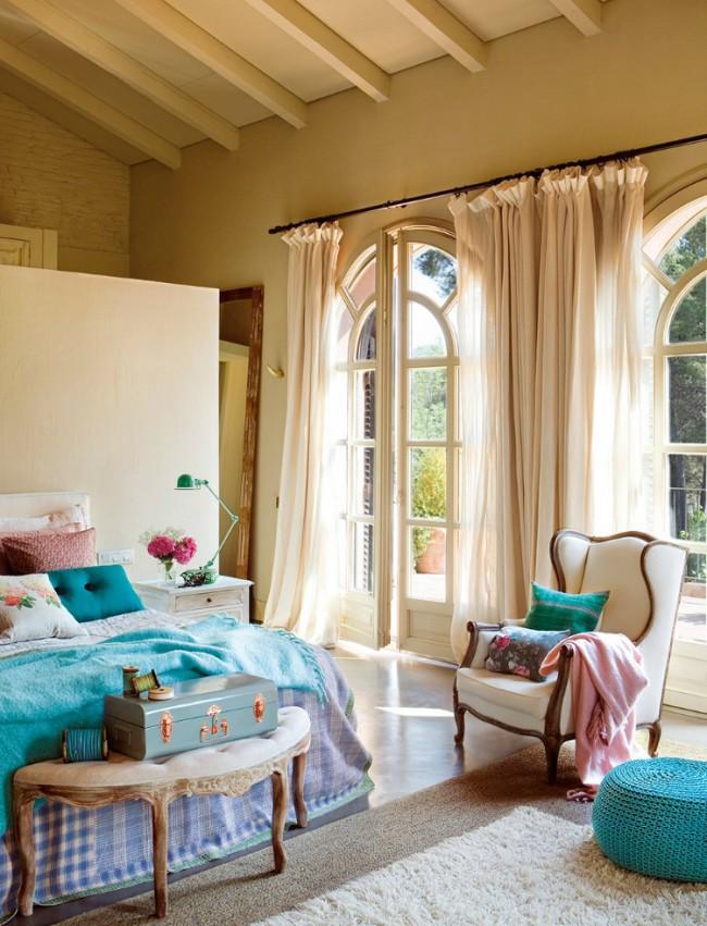 Eleganta unui dormitor in fermecatorul stil vintage - Poza 3