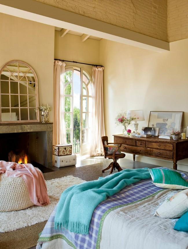 Eleganta unui dormitor in fermecatorul stil vintage - Poza 5
