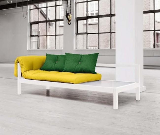 Culori vibrante in mobilierul si accesoriile pentru dormitor - Poza 2