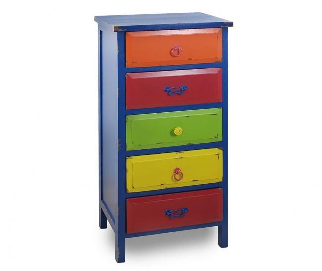 Culori vibrante in mobilierul si accesoriile pentru dormitor - Poza 4