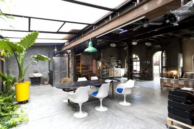 Atmosfera imbietoare a unui apartament chic in stil industrial - Poza 9