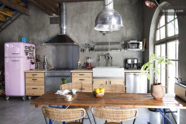 Atmosfera imbietoare a unui apartament chic in stil industrial - Poza 8