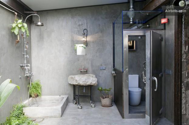 Atmosfera imbietoare a unui apartament chic in stil industrial - Poza 6