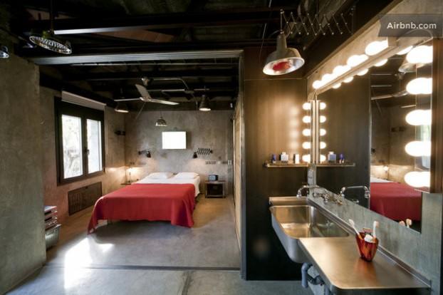 Atmosfera imbietoare a unui apartament chic in stil industrial - Poza 5