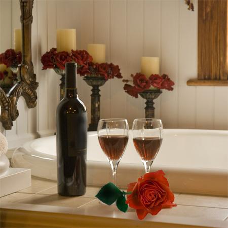Pe timp de iarna, o baie calda devine ceva romantic - Poza 1