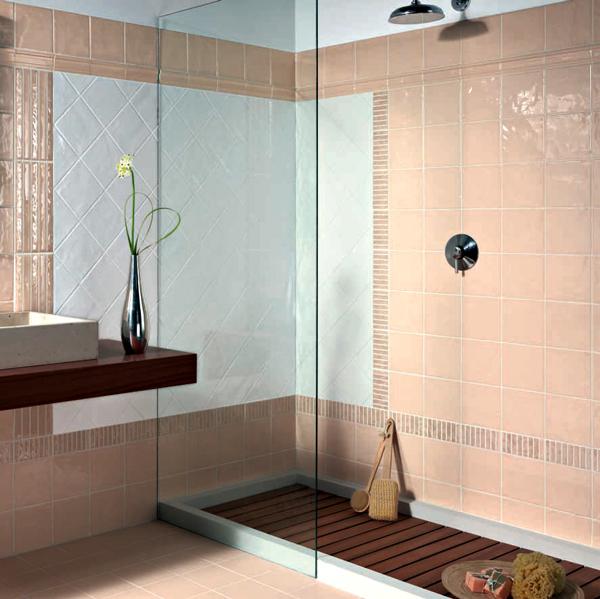 Sase combinatii de gresie si faianta in nuante deosebite pentru baie - Poza 3