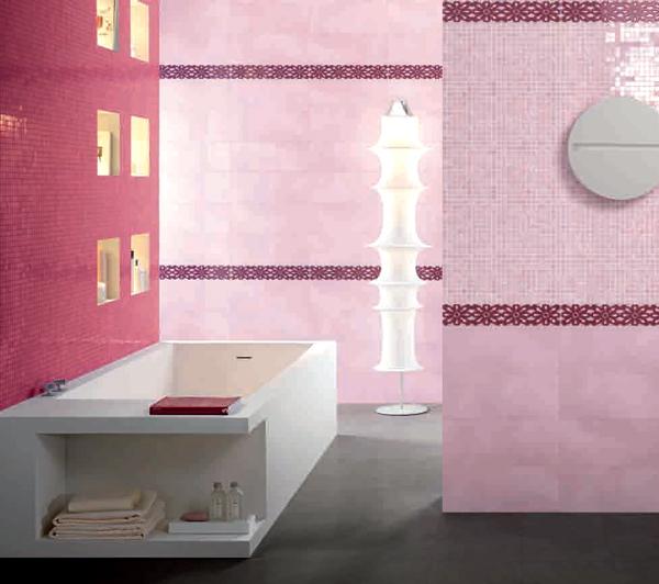 Sase combinatii de gresie si faianta in nuante deosebite pentru baie - Poza 5