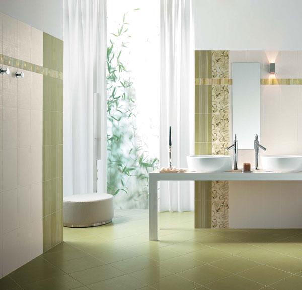 Sase idei superbe pentru amenajarea cu gresie si faianta a camerei de baie - Poza 1