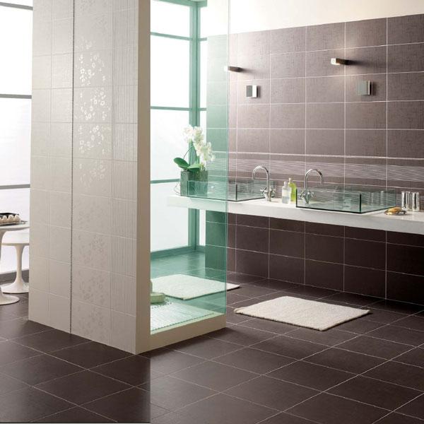 Sase idei superbe pentru amenajarea cu gresie si faianta a camerei de baie - Poza 2